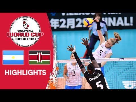 ARGENTINA vs. KENYA - Highlights | Women's Volleyball World Cup 2019