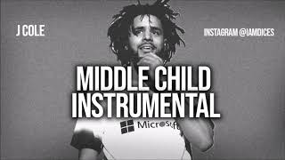 """J. Cole """"Middle Child"""" Instrumental Prod. by Dices *FREE DL* (Kanye Diss)"""