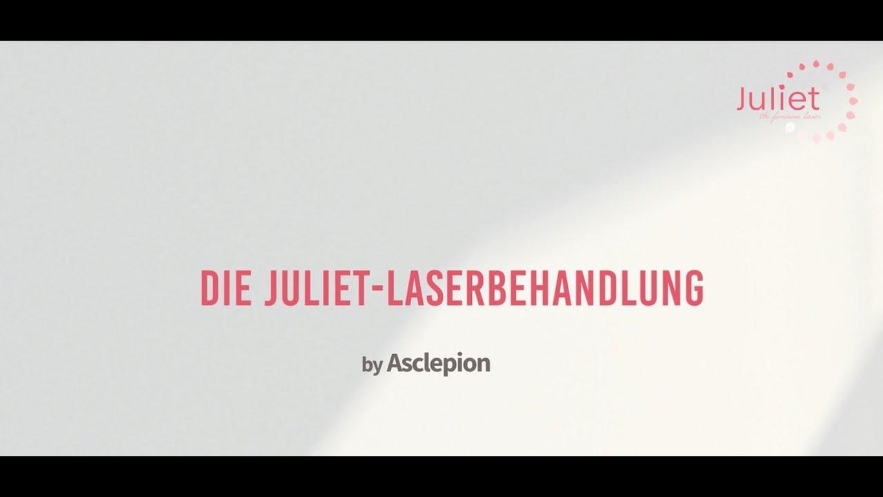 Juliet - the feminine Laser: Behandlung mit Steri-Spot Handstück