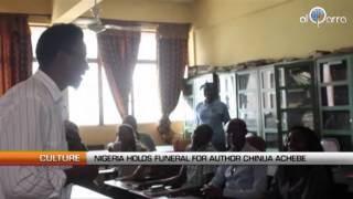 Nigeria holds funeral for author Chinua Achebe