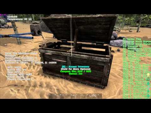 Ark Survival Evolved - Auto Irrigation Water Tank - farming/irrigation