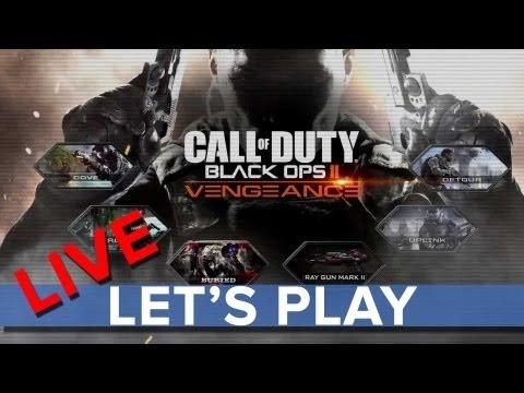 Call of Duty: Black Ops 2 Vengeance Map Pack - Let's Play LIVE - Eurogamer