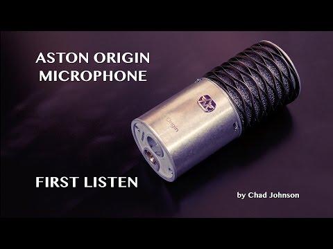 Aston Origin Microphone - First Listen