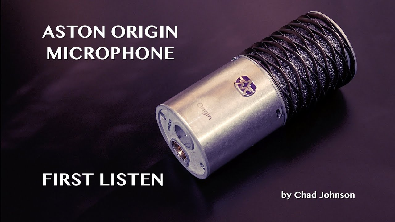 aston origin microphone first listen youtube. Black Bedroom Furniture Sets. Home Design Ideas