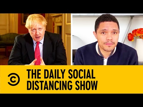Boris Johnson Announces Extensive UK Lockdown | The Daily Show With Trevor Noah