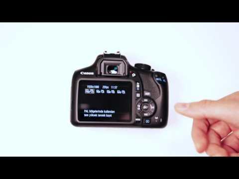 Canon 1300D'de Video Nasıl Çekilir?
