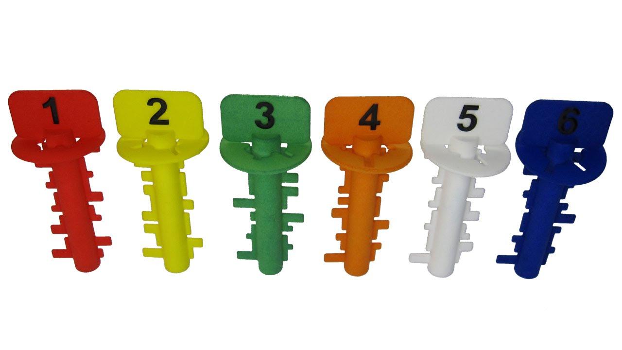 Download Key Maze - set of six