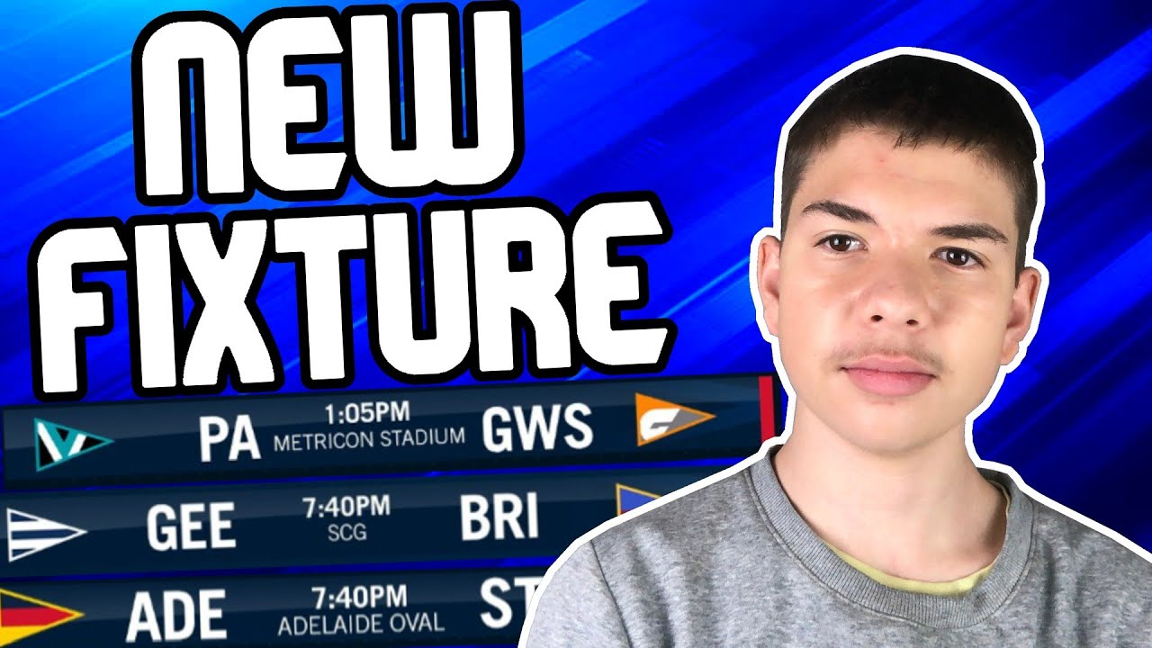 REACTING To The NEW Round 6/7 Fixture+ Squiggle Prediction