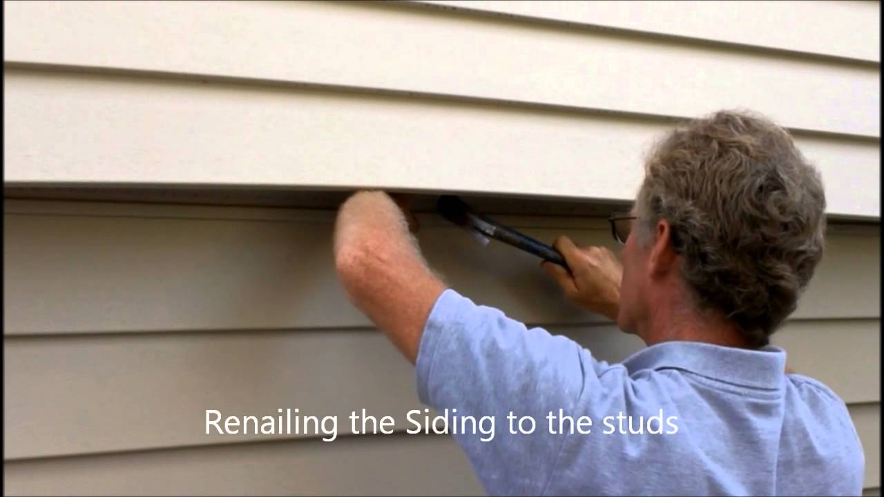 Vinyl Siding Repair Youtube