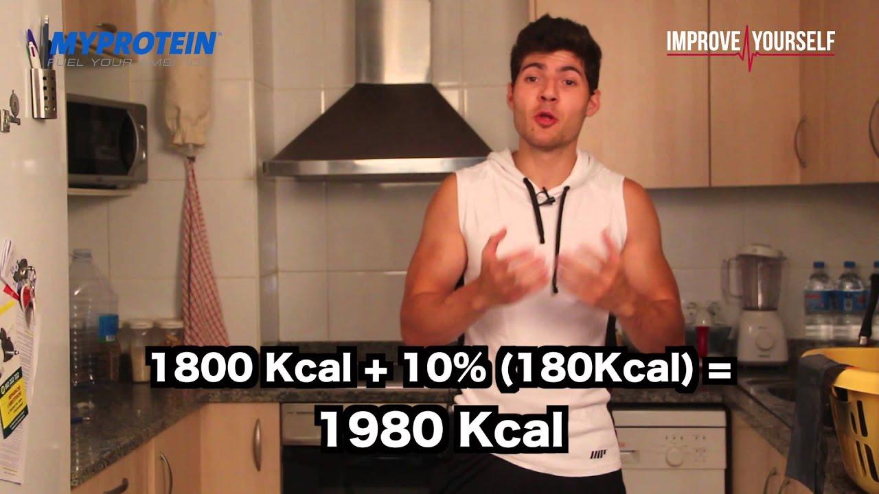 cuantas calorias necesita el cuerpo para subir de peso