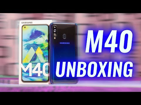 Samsung Galaxy M40 Unboxing & Google Camera Demo!