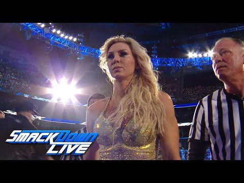 Charlotte responds with grace after losing the Women's Title: SmackDown Exclusive, April 10, 2..