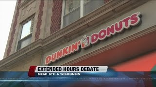 Should the downtown Milwaukee Dunkin