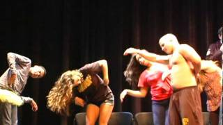 Comedy Hypnotist The SandMan Novato High School Spirit Routine 2011
