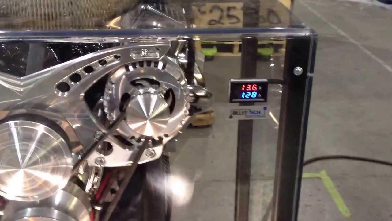 Street Rod One wire GM alternator vs. Billet-Tech / MechMan dyno ...