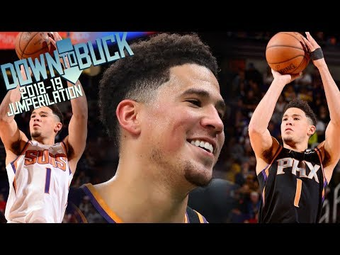 Devin Booker All 176 Midrange Jumpers Full Highlights (2018-19 Season Jumperilation)