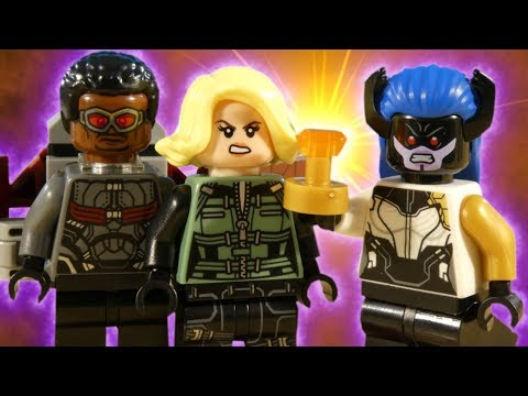 LEGO AVENGERS INFINITY WAR PART 3 - THE SOUL STONE - MARVEL STOP MOTION