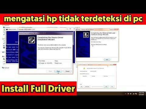Cara Install Full Driver Qualcomm HS-USB QDLoader Dan Minimal ADB And Fastboot