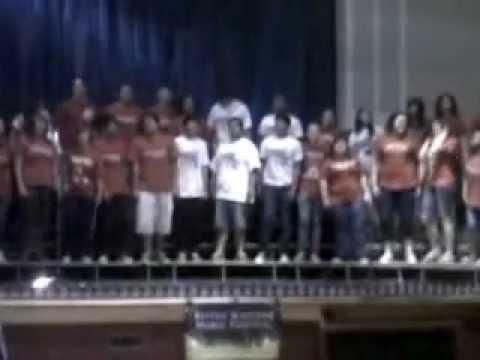 "Pueblo Centennial High School Schola Cantorum- Eltich Gardens Music Festival- ""Africa"""