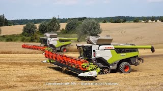 Claas Lexion 8900 im Getreide / The Whole Story