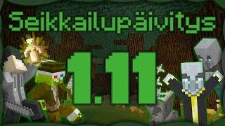 Minecraft - 1.11 Päivitys! AARREKARTTA! KARTANO! LAAMA!