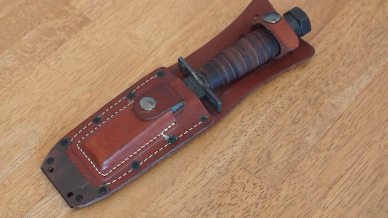 Camillus knives jet Pilot pilots survival knife 1983 review