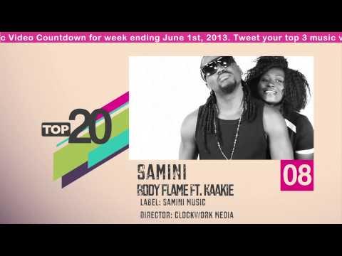 Top 20 Ghana Music Video Countdown - Week #22, 2013.