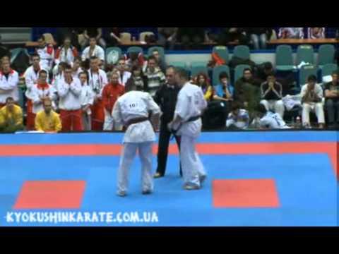 Final male to85 kg Maciej Mazur (Poland) vs Kestutis Radvila (Lithuania)