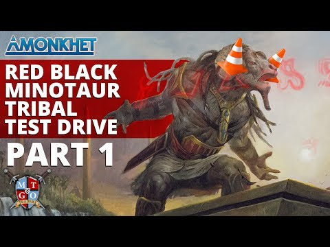 MTG | RB Minotaur Tribal  Amonkhet Standard Test Drive Part 1