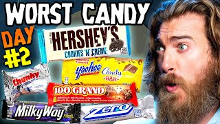 Worst Halloween Candy Bar Taste Test (Day 2)