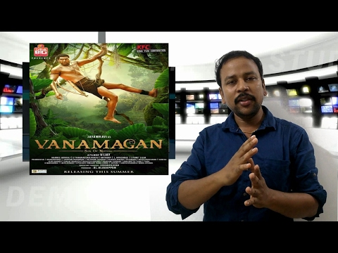 Vanamagan Trailer Reaction and Review ||...
