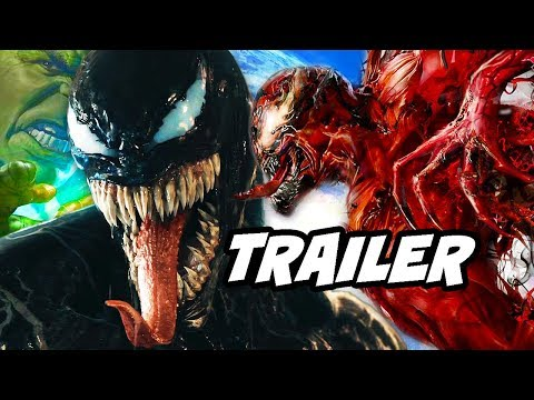 Venom Comic Con Trailer - Spider-Man Marvel Easter Eggs Breakdown
