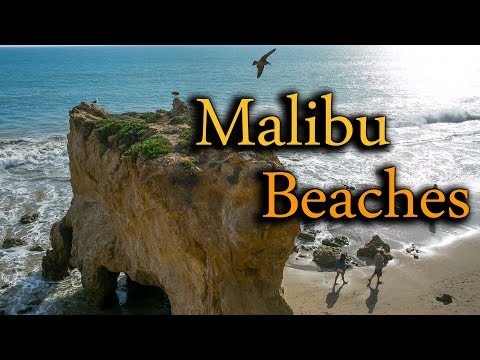 Malibu's Best Beaches - El Matador State Beach + Zuma Beach - Southern California Adventure Part 10