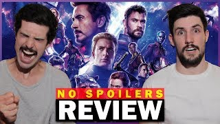 AVENGERS: ENDGAME Review (No Spoilers)