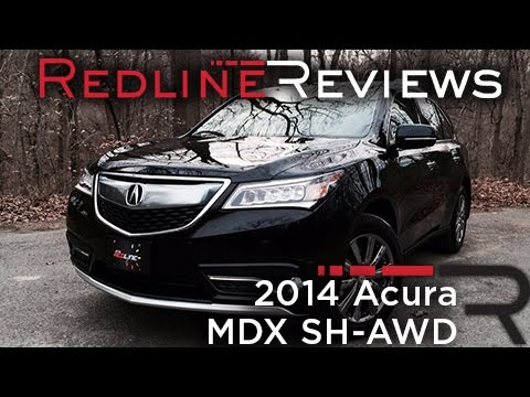 Acura MDX SHAWD Redline Review YouTube - Acura mdx review 2014