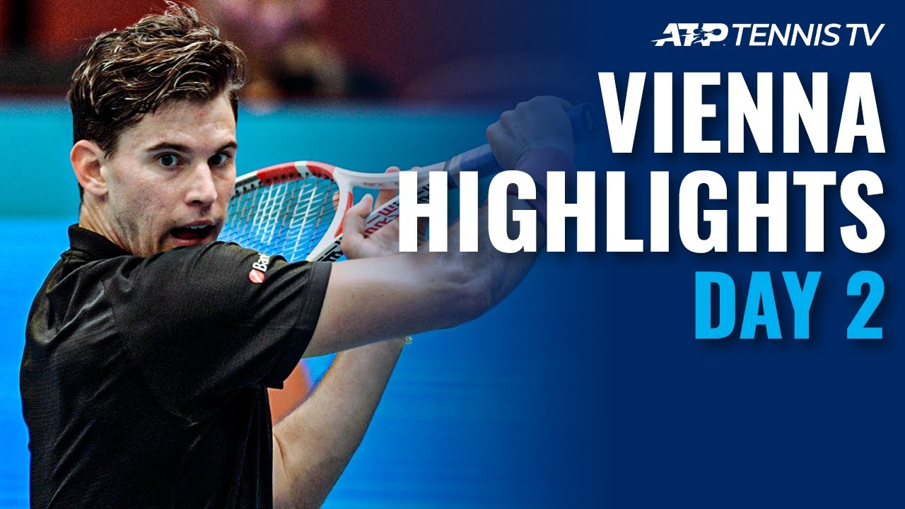 Djokovic, Thiem Progress; Garin Upsets Wawrinka | Vienna 2020 Day 2 Highlights
