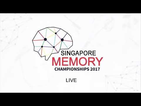 Closing Ceremony Singapore Memory Championships 2017