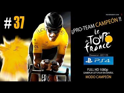 #37 PRO TEAM - GREGARIOS DE LUJO - TOUR - MODO CAMPEÓN - PS4 - Español Gameplay