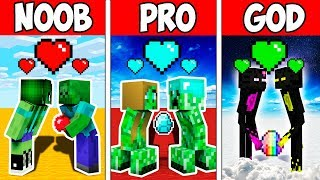 Minecraft Noob Vs Pro Vs God  Monster Love Story Adventure In Minecraft  Animation