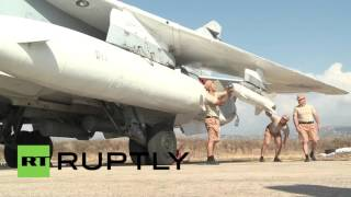 Syria: Russian Sukhoi jets prepare for sorties aimed at crippling ISIS