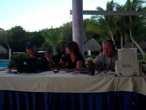 Y100 - Bear, Charli and Dan Stone Broadcasting Live from Mexico