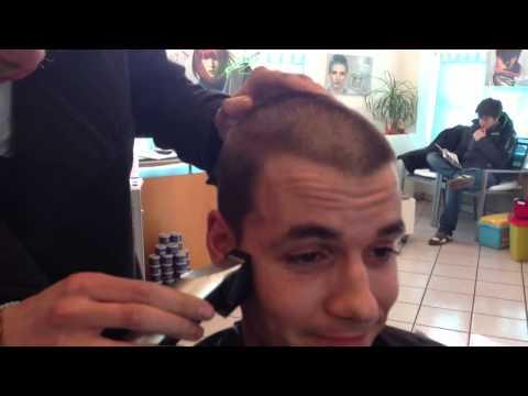 Max Wette verloren, Haare ab