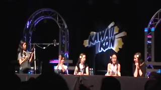 How to draw with voice actors Part 1 || Kawaii Kon 2018