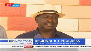 Raila Odinga has urged the continent to explore ICT
