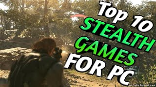 Top 10 PC Stealth Games of All Time || Stealth Games You Must Try
