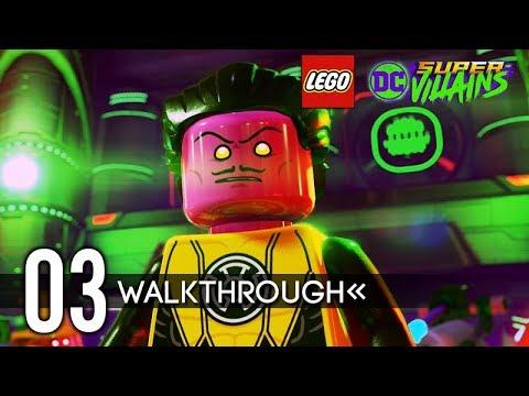 LEGO DC Super-Villains Gameplay Walkthrough Part 3 (No Commentary) 1080p 60FPS HD
