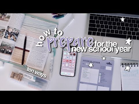 How To Prepare for the New School Year ☆ Back To School Tips