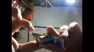 Me Raking A Display Case Lock It Has Waffers
