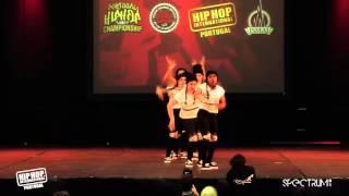 DC Crayon | 5º Lugar Divisão Varsity @ Hip Hop International Portugal 2015 | Finais
