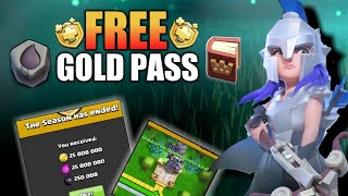 FREE GOLD PASS, GLADIATOR QUEEN SKIN, RUNE OF DARK ELIXIR FOR FREE....  CLASH OF CLAN 2019